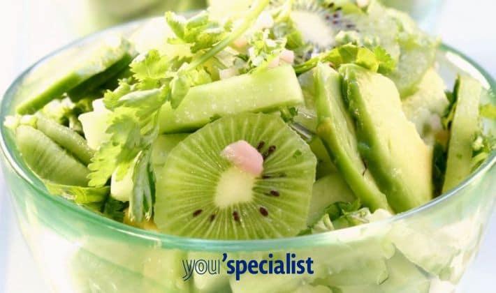 insalata di kiwi e avocado