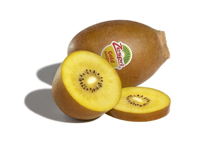 I benefici del kiwi giallo: contiene più vitamina C del kiwi verde