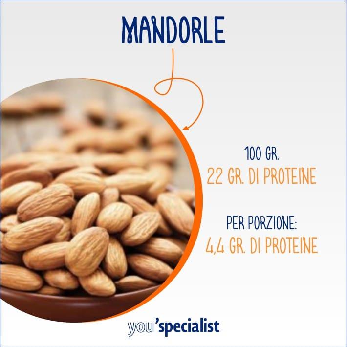 snack proteici e salutari