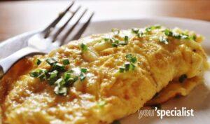 uova in versione omelette