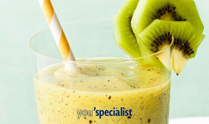 smoothie di kiwi e ananas