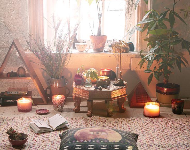 imparare a meditare: creare il proprio spazio
