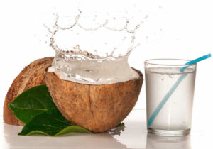 bevande da metà gara, acqua di cocco
