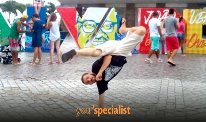 Capoeira a Napoli con Marco