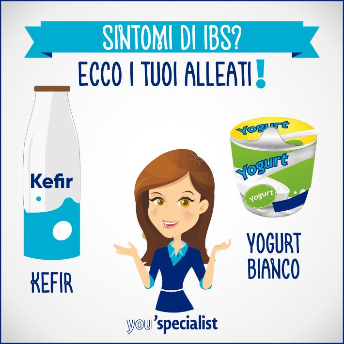 Intestino irritabile e yogurt