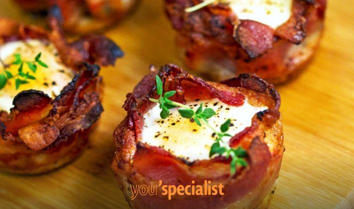 snack paleo, muffin di uova