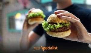 cibi pericolisi: hamburger vegetariani