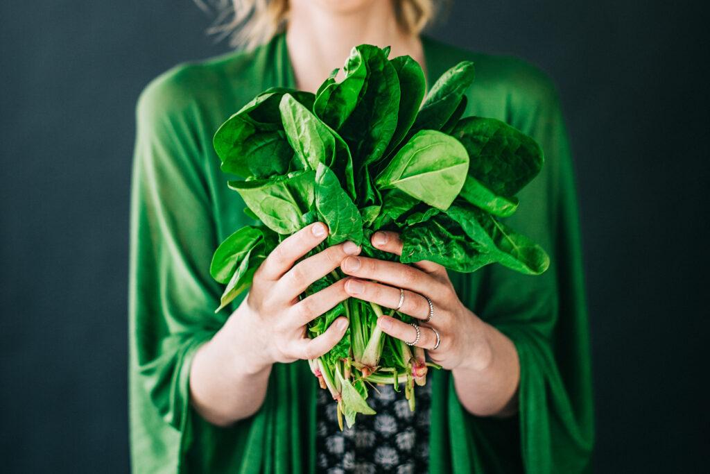 spinaci: benefici per la salute