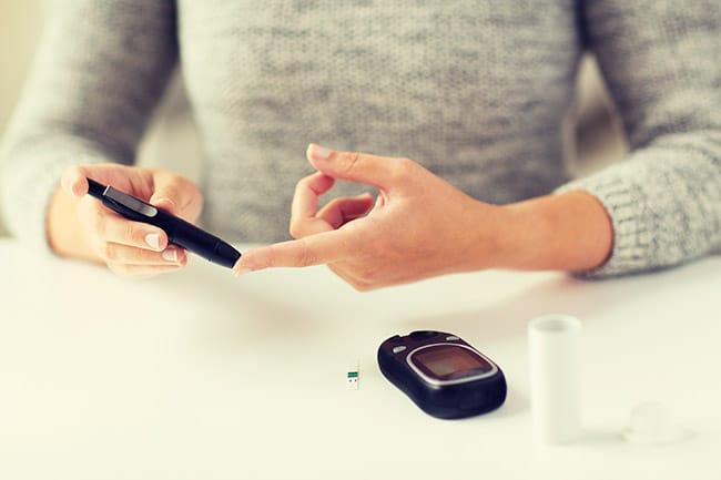 dieta basso indice glicemico: glucometro