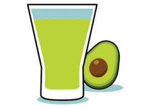 frullati proteici, avocado