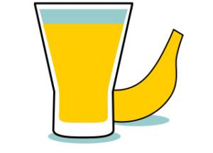 frullati proteici, banana