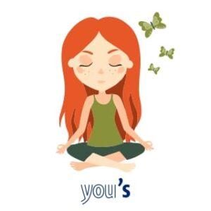 come allenare il pensiero positivo, meditazione