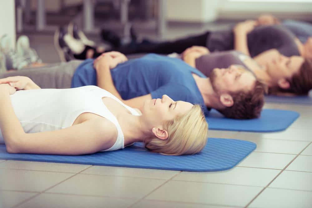 rilassamento muscolare, esercizi di respirazione