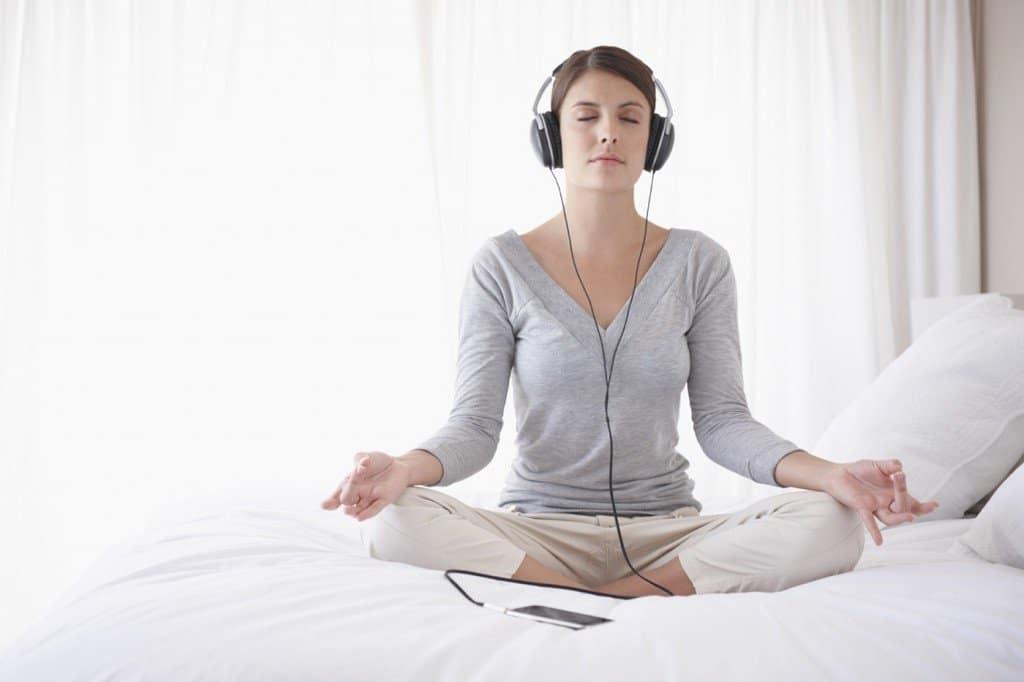 esercizi di meditazione, respirazione guidata