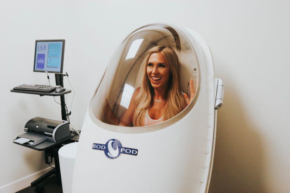 calcolare massa grassa: sistema bod pod