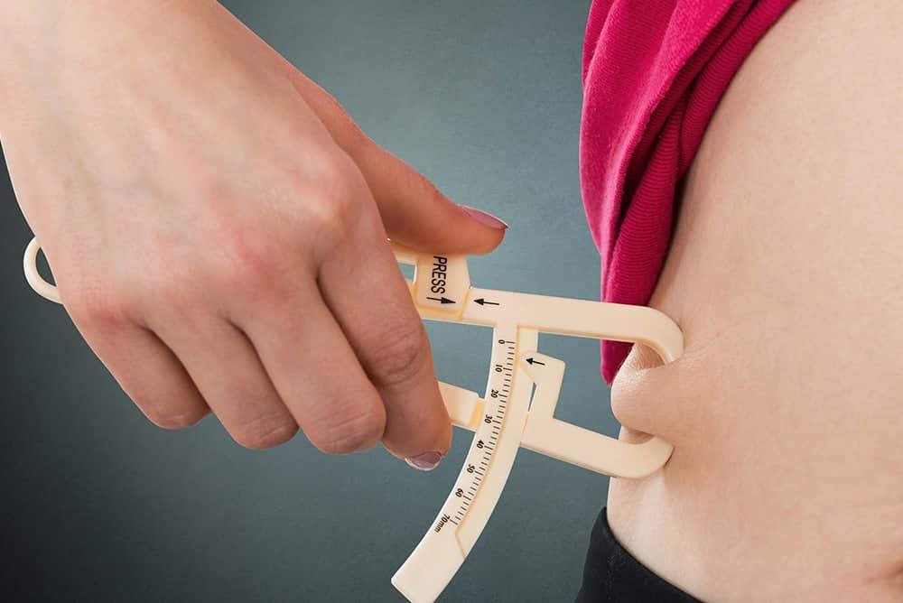 calcolare massa grassa: plicometria