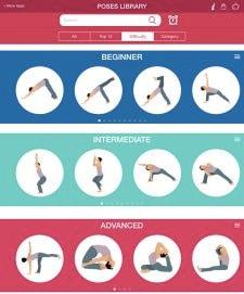 migliori yoga app: yoga poses