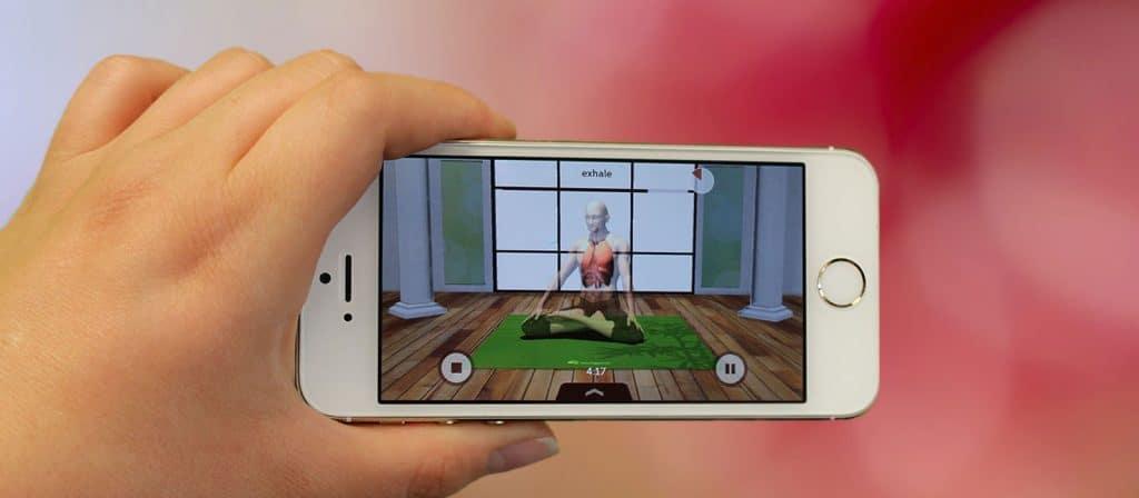 migliori yoga app: universal breathing pranayama