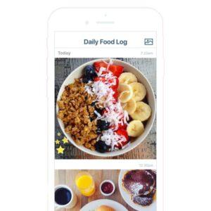 perdere peso: diario alimentare fotografico