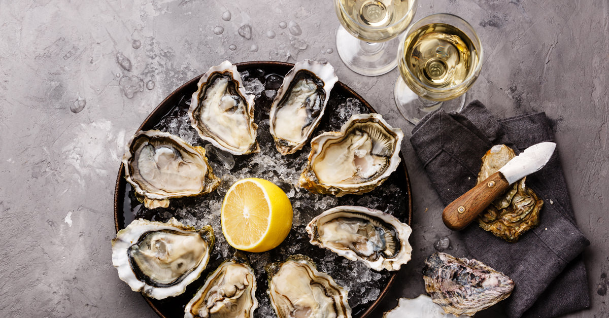 cibi ricchi di zinco: ostriche