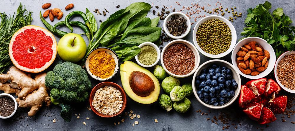 rimedi naturali rughe: cibi antiossidanti