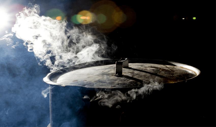 rimedi naturali rughe: cottura vapore