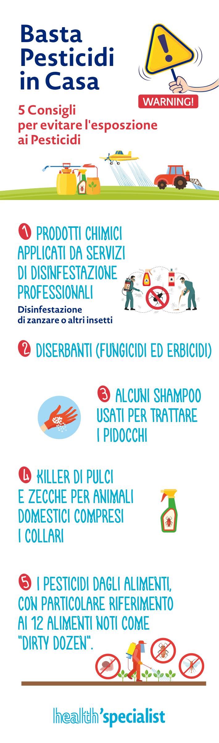 Prevenzione leucemia: Pesticidi
