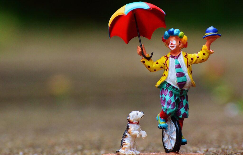 paura die clown, coulrofobia
