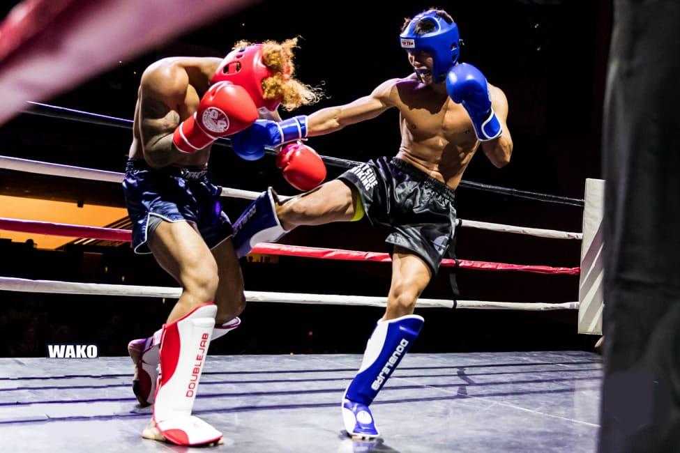 Kickboxing attività agonistica su ring