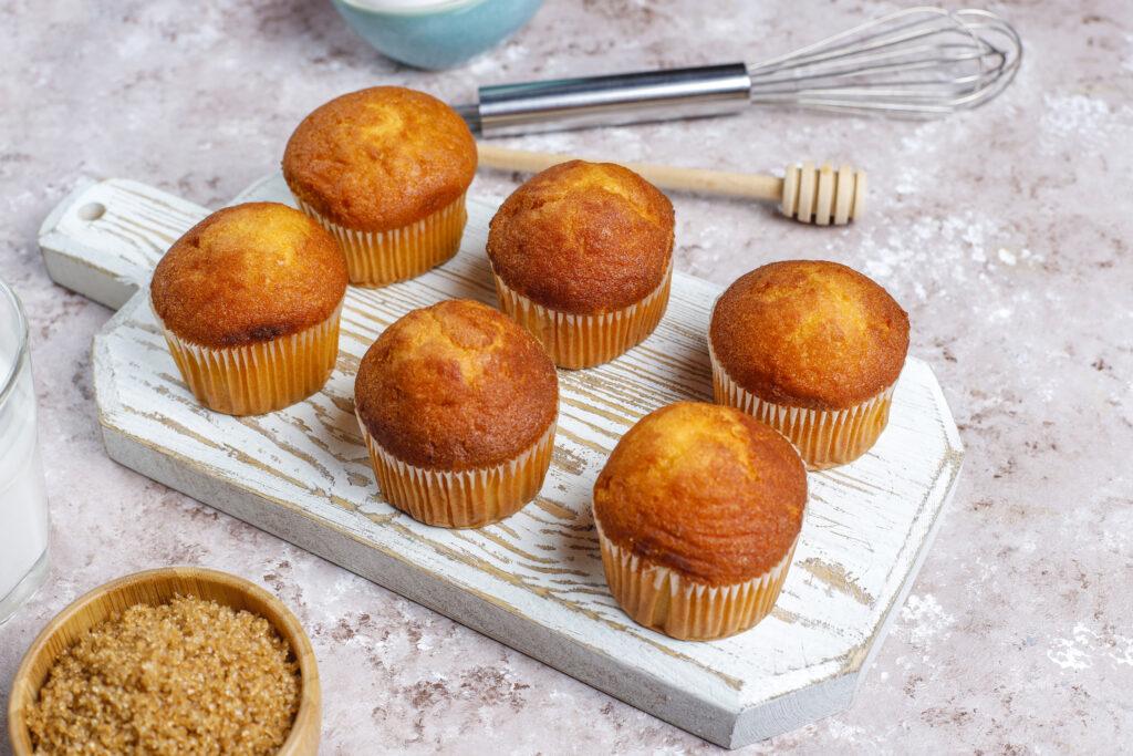 colazione salutare muffin