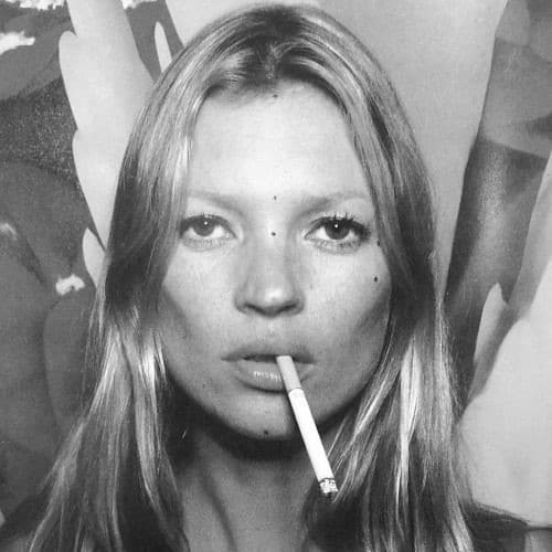 Kate Moss strabismo