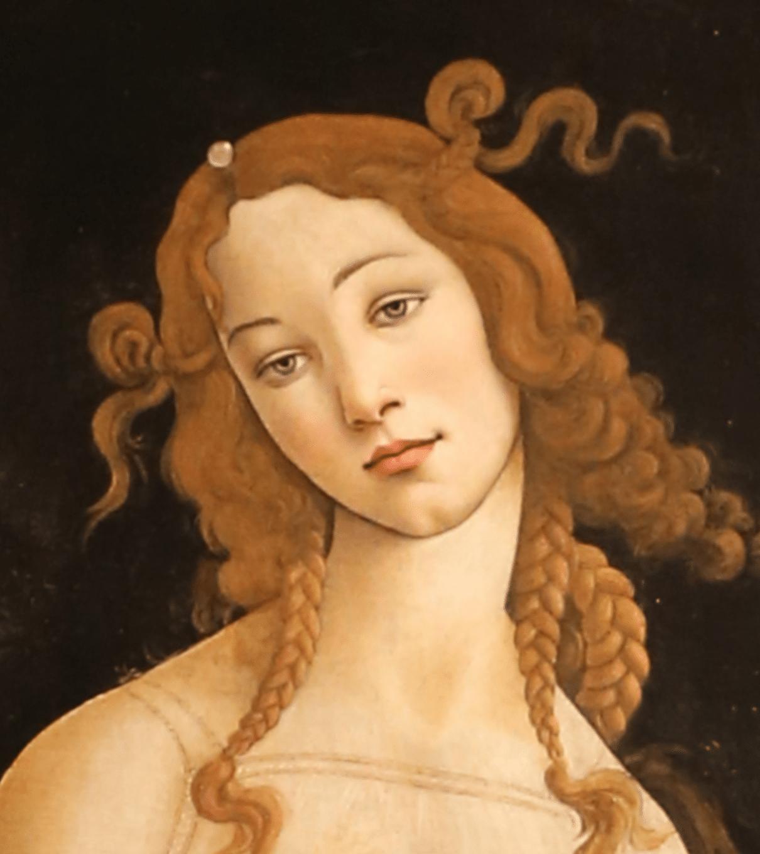 Venere del botticelli strabismo
